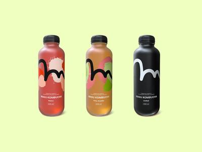 Magu Kombucha Branding & Packaging 2