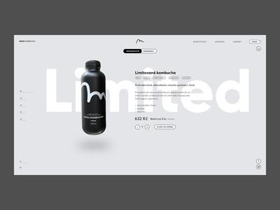 Magu Kombucha Branding & Product Website