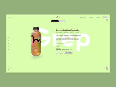 Magu Kombucha Branding & Product #2