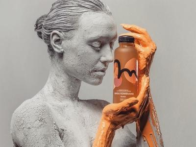 Magu Kombucha Branding & Packaging #2