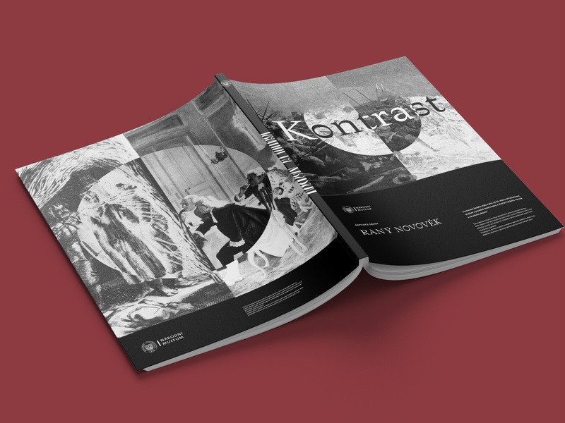 The National Museum History Exhibition Catalogue Cover layout exhibition museum serif contrast monochrome white black illustration print logo type identity corporate identity typography branding design cover design cover catalogue
