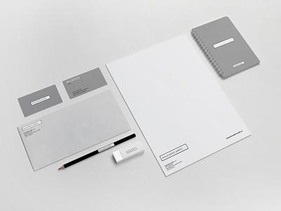 Innovation Path Brand Identity green gray mockup vector print flat logo minimal minimalism type identity corporate identity typography branding design