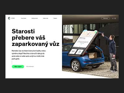 Cosmo Website webdesign digital whitespace clean ux minimal flat minimalism typography branding design