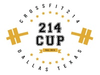 Crossfit 214 - 214 Cup T-Shirt Design