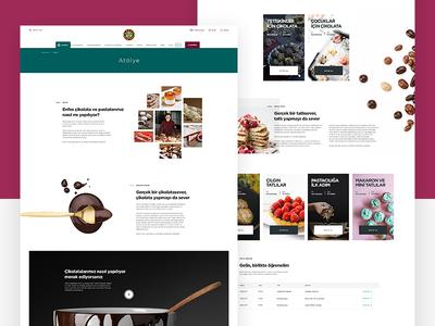 Kahve Dünyası Chocolate & Cake Workshop Page