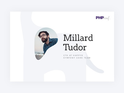 Php event cards