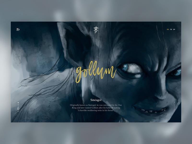 Tolkien's Gollum