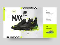 Nike Air Max 270 concept