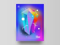 The Gradient Diamond // Poster
