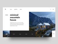 Minimal Mountain House