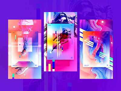 Poster Collection | Behance vector design illustration poster art poster design poster behance project behance