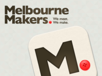 Melbourne Makers Logo and icon