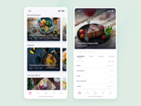 Enjoy the moment - recipes app tasty mobile ui app enjoy recipe food design ui