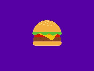 Time for a Hamburger! 2020 motiongraphics motiondesign after effects motion graphics loop hamburger menu hamburger icon hamburger graphicdesign gif food app food animation food flat design 2d animation after effects adobe illustrator 2d illustration 2danimation 2d