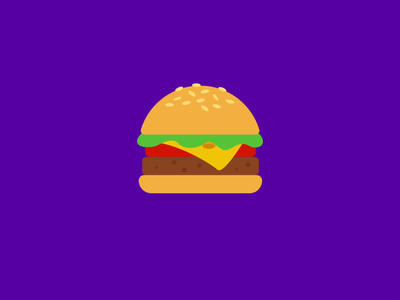 Time for a Hamburger! 2020 motiongraphics motiondesign after effects motion graphics loop hamburger menu hamburger icon hamburger graphicdesign gif food app food animation food flat design 2d animation after effects adobe illustrator 2d illustration 2danimation 2d