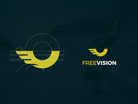 "Logo proposal for ""FreeVision"""