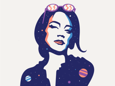 Universe in her