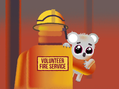Pray for Australia crying australia bushfire australia fire motion designer motion design motiongraphics motion pray eyes animation cute animation cute animal animation animal character animation sad fire bushfire firefighter koala australia