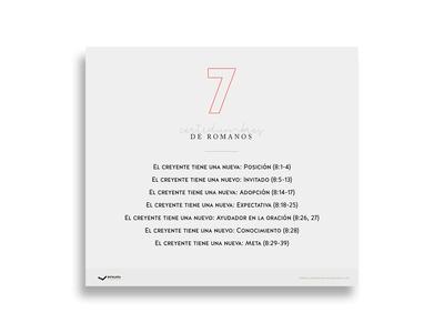Infografía: 7 certidumbres del libro de Romanos