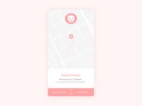 Location tracker – Daily UI #020