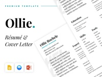 Ollie - Resume and Cover Letter