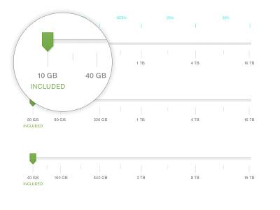 Storage Slider Specs usability ux specs ui slider