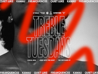 Treble Tuesdays Poster