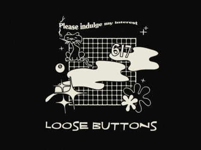 Loose Buttons Tee