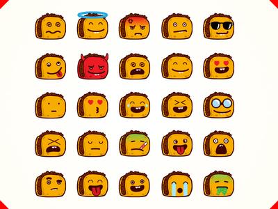 """Emoji Tacos for """"MeWe"""""""