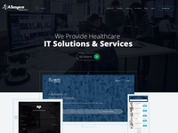 Health It Solutions & Services Website