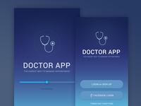 Doctor App Screens2