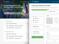 Jobpath 2.0 Mockups