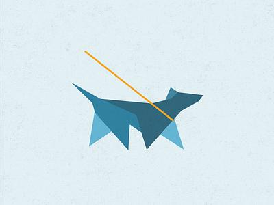 GO-Oscar logo dog geometric walking app