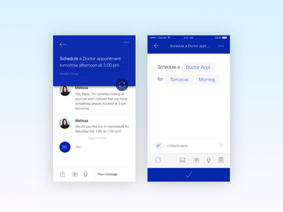 Create a task personal personal assistant chat gystnow gyst task minimal modern app ux ui