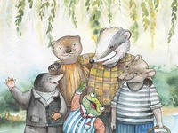 The Wind in the Willows - A Bubo book