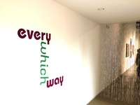 SDSU Downtown Gallery Exhibition Branding - Every Which Way
