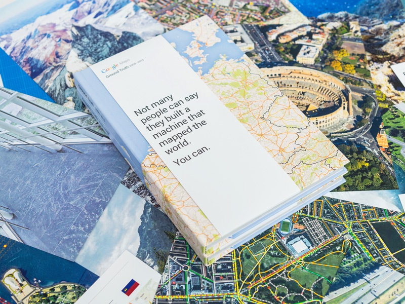 google maps ground truth book by upperquad dribbble