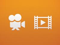 Movie icon concepts