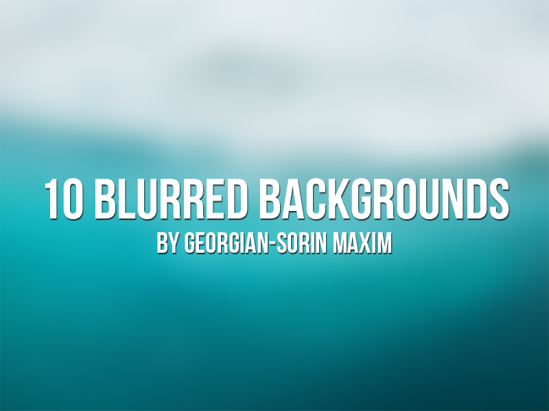 Freebie PSD - 10 Blurred Backgrounds  ui website freebie backgrounds blurred free resource