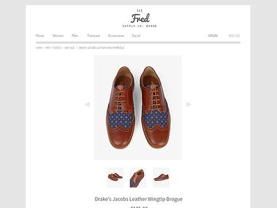 Online Store Web Design PSD   Freebie ui web design store e-commerce shop fashion website flat max