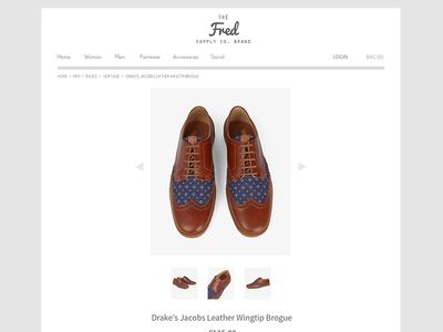 Online Store Web Design PSD   Freebie