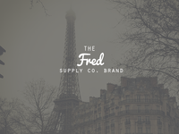 The Fred Supply Co. Brand Logo