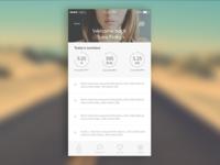 Fitness/Lifestyle App Concept