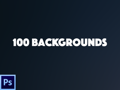 100 Backgrounds / Freebie ps gratis free flat dark color blurred backgrounds freebie