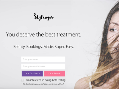 Hello Stylinger stylinger style mailing release startup