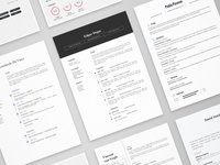 Masterpieces - 11 resume templates