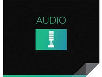 MZed Audio Icon Design