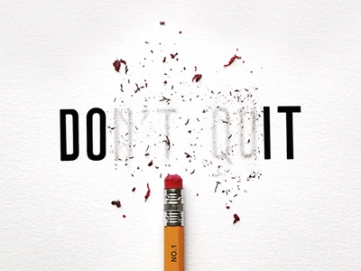 Don't Quit - Do It by Joey Bearbower | Dribbble | Dribbble