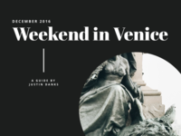 Weekend In Venice
