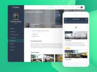 Real Estate Web Tenant Screen
